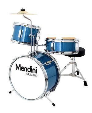 Mendini 3 Drum Set Metallic Blue 13-inch for Sale in Springfield, VA