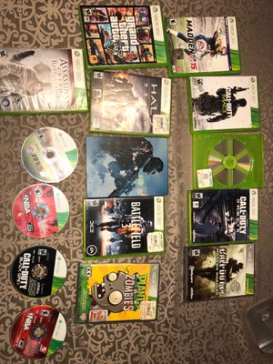 Lot of 15 xbox 360 games. for Sale in Garfield, NJ