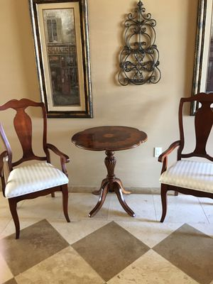 Entry chairs and table for Sale in Young, AZ