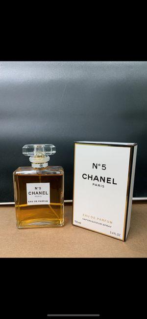 Chanel No. 5 Women's Perfume 3.4oz for Sale in Utica, MI