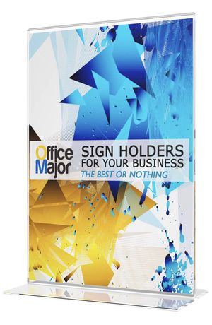 New in Box: Premium Acrylic Sign Holder 5x7 (Box of 10) for Sale in Fairfax, VA