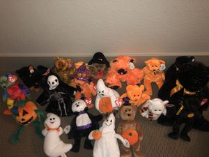 🚨Exclusive Halloween edition Beanie Babies 🎃 for Sale in Aurora, CO