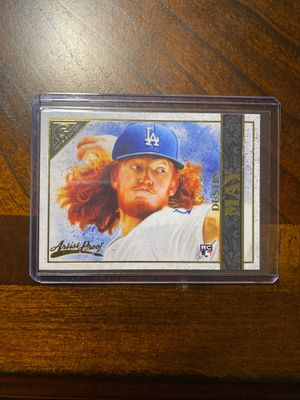 2020 Topps Gallery Dustin May Artist Proof RC Baseball Card for Sale in Woodruff, SC