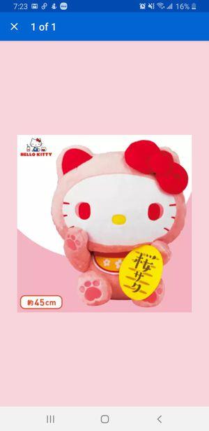 Hello Kitty Sakura Maneki Neko Doll GJ for Sale in Los Angeles, CA