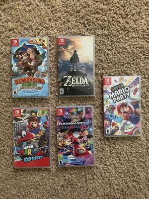 Nintendo Games (switch, ds, 3ds) for Sale in Marietta, GA