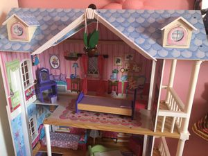 Wooden doll house 3 levels for Sale in Silver Spring, MD