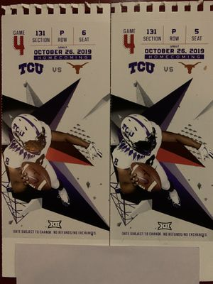 The best tickets TCU for Sale in Grapevine, TX