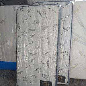 New Twin XL Extra Large 37x80 Mattress Only Orthopedic    Colchón Individual XL Extra Largo Nuevo for Sale in Whittier, CA