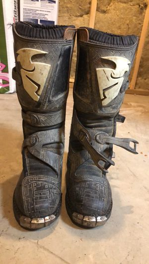 Thor dirt biking boots for Sale in Bangor, ME
