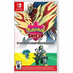 Pokemon shield + expansion pass (no case) for Sale in San Bernardino, CA
