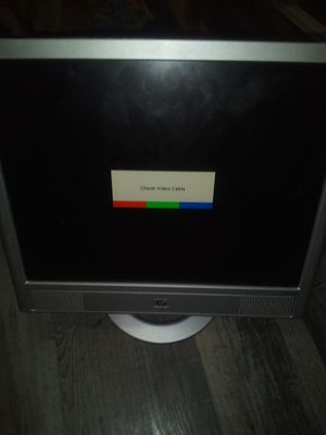Hp computer monitor screen for Sale in Oklahoma City, OK