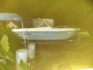 1975 renken boat eith a chistyler 1972 105hp ran good last eeek for Sale in Cleveland, GA