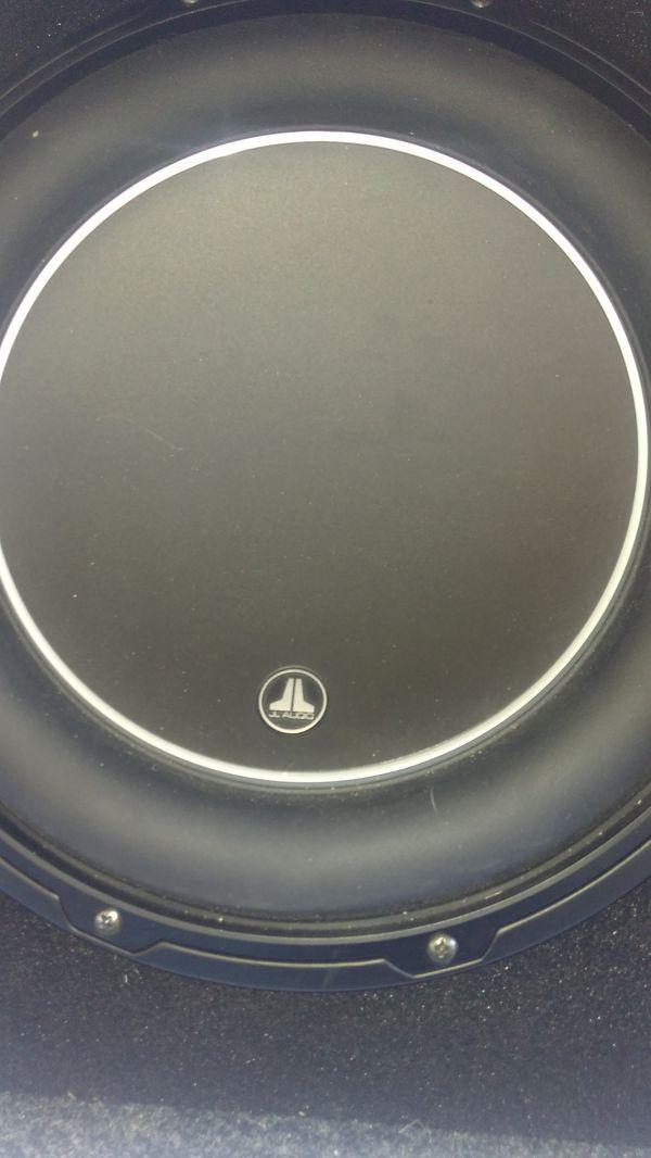 JL Audio 1200 watt speaker