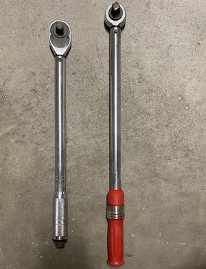Torque wrenches $80 for both for Sale in Long Beach, CA