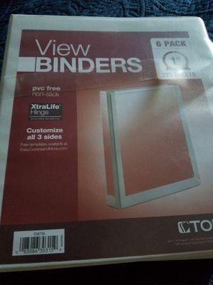 4 Binders for Sale in Buena Park, CA