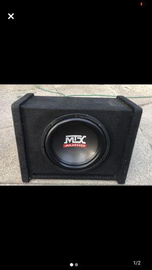 MTX AUDIO BASS SPEAKER !🔊 for Sale in Pawtucket, RI