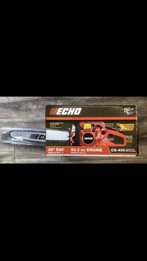 ECHO 18 in. 50.2 cc Gas 2-Stroke Cycle Chainsaw for Sale in Los Angeles, CA