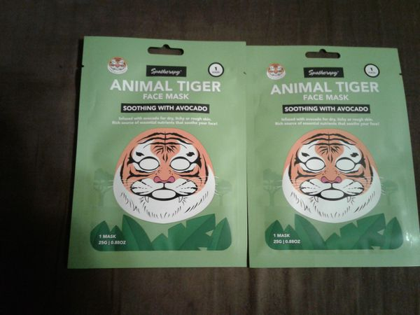 Spatherapy Animal tiger face mask