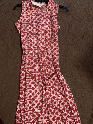 Red/white casual dress for Sale in Columbus, OH