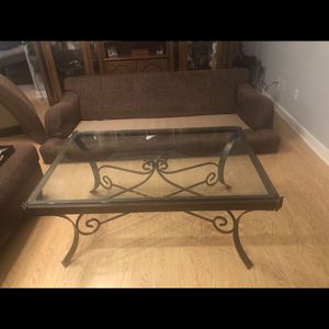 Bronze And Glass Table for Sale in Warner Robins, GA