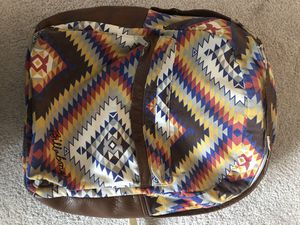 Billabong Backpack Multicolored w/Leather Trim for Sale in Alexandria, VA