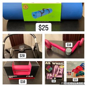 ASSORTMENT OF EXERCISE EQUIPMENT for Sale in Tyler, TX