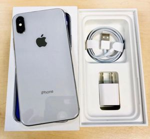 iPhone X - 256GB, Factory Unlocked for AT&T, T-Mobile, Metro PCS, Sprint, Cricket, Lyca, Ultra, International + warranty for Sale in Silver Spring, MD