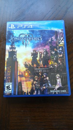 Ps4 Kingdom Hearts 3 for Sale in San Diego, CA