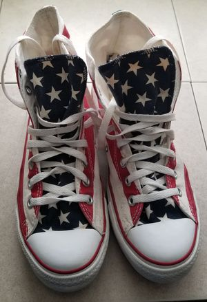 4th of July American Flag Converse All Stars for Sale in Beaverton, OR