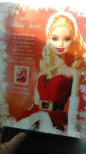 Holiday Barbie 2007 for Sale in Laurel, DE
