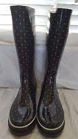 Kate Spade polka dot rain boots - size 10 for Sale in Durham, NC