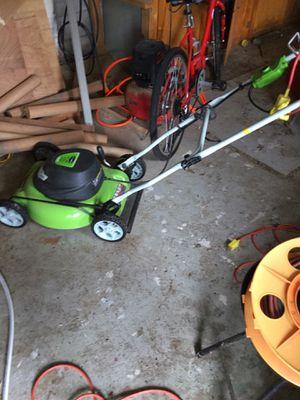 Electric lawn mower for Sale in Burlington, NJ
