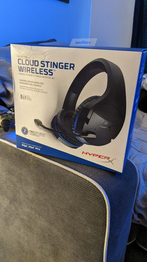 Hyper x cloud stinger wireless for Sale in Columbia, MD