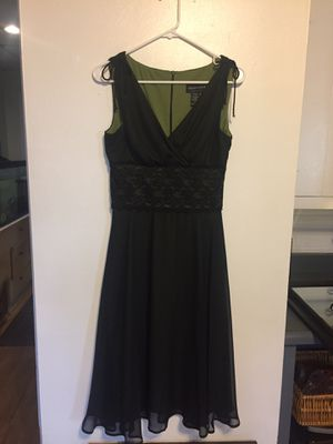 Black Dress by Connected Apparel - Size 6 for Sale in Washington, IL