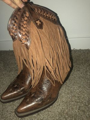 Fringe Western Boots for Sale in Lutz, FL