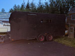 Enclosed car trailer 16' for Sale in Black Diamond, WA
