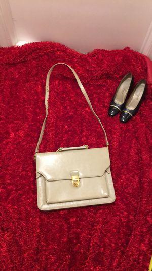 Bellerose messenger bag; cream color for Sale in Richmond, CA