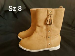 Nice toddler girls boots Size 8 from Toys'R'Us for Sale in Phoenix, AZ