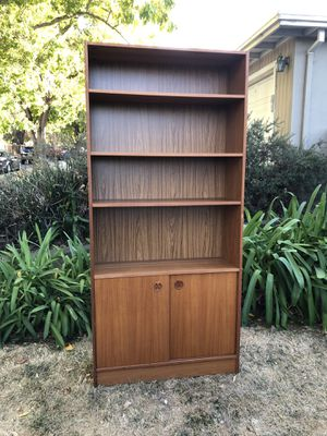 Bookshelf with doors for Sale in Redwood City, CA