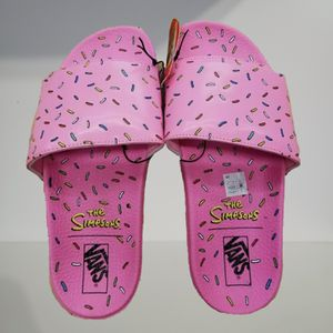 Vans The Simpsons Pink Donut Slides for Sale in Beverly Hills, CA