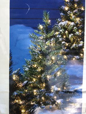 CHRISTMAS 🎄 PRE-LIT TREE 3 FEET TALL ADD A TOUCH OF HOLIDAYS TO YOUR PORCH OR PATH WAY 🎄 for Sale in Signal Hill, CA