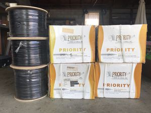RG 6 Quad COAX Cable (7,000ft) for Sale in Palmyra, PA