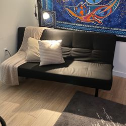 IKEA Black Futon for Sale in Lake Oswego,  OR
