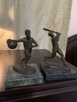 Super Rare Basketball and Baseball Mini Statues for Sale in Farmington Hills, MI