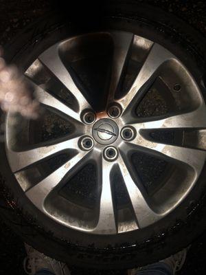 Chrysler 200 wheels for Sale in Washington, DC