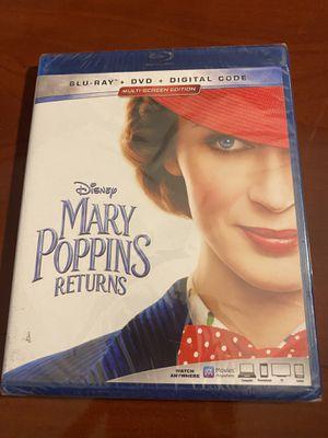 MARY POPPINS RETURNS Blu-ray+DVD+Digital Code for Sale in Orlando, FL