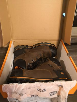 Brand new timberlands pro boondock composite toe work boots size 10M for Sale in Riverside, CA