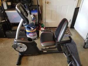 Exercise bike battery powered display for Sale in Puyallup, WA