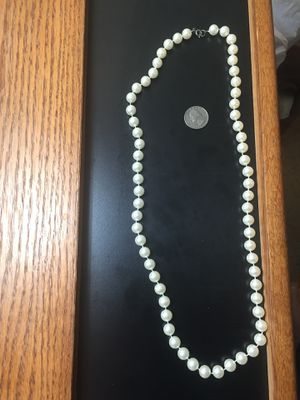"30"" Faux Pearl Necklace for Sale in US"
