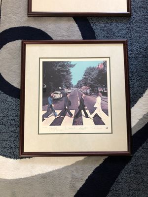 The Beatles' Abbey Road Limited Edition Lithographic, 1993 (print number 4221) for Sale in Annandale, VA